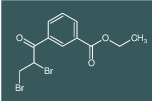 ethyl 3-(2,3-dibromopropanoyl)benzoate