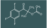 2-methyl-1-oxo-1-(2,4,5-trifluorophenyl)propan-2-yl acetate