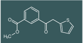 methyl 3-(2-(thiophen-2-yl)acetyl)benzoate