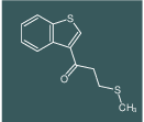 1-(benzo[b]thiophen-3-yl)-3-(methylthio)propan-1-one