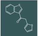 1-(benzo[b]thiophen-3-yl)-2-(thiophen-2-yl)ethanone