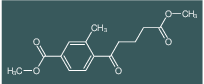 methyl 4-(5-methoxy-5-oxopentanoyl)-3-methylbenzoate
