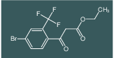 ethyl 3-(4-bromo-2-(trifluoromethyl)phenyl)-3-oxopropanoate