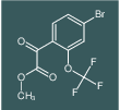 methyl 2-(4-bromo-2-(trifluoromethoxy)phenyl)-2-oxoacetate