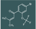 1-(4-bromo-2-(trifluoromethoxy)phenyl)-3-methylbut-2-en-1-one
