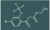 ethyl 3-(4-bromo-2-(trifluoromethoxy)phenyl)-3-oxopropanoate