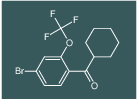 (4-bromo-2-(trifluoromethoxy)phenyl)(cyclohexyl)methanone