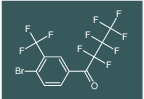 1-(4-bromo-3-(trifluoromethyl)phenyl)-2,2,3,3,4,4,4-heptafluorobutan-1-one