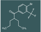1-(4-bromo-3-(trifluoromethyl)phenyl)-2-propylpentan-1-one