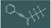 4,4,5,5,6,6,6-heptafluoro-1-phenylhex-1-yn-3-one