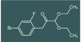 3-(4-Bromo-2-fluorophenyl)-1,1-diethoxypropan-2-one