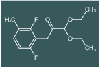 3-(2,6-Difluoro-3-methylphenyl)-1,1-diethoxypropan-2-one