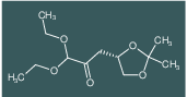 3-(2,2-Dimethyl-[1,3]dioxolan-(R)-(+)-4-yl)-1,1-diethoxypropan-2-one