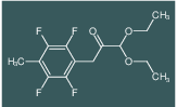 1,1-Diethoxy-3-(2,3,5,6-tetrafluoro-4-methylphenyl)propan-2-one