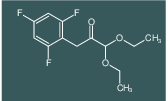 1,1-Diethoxy-3-(2,4,6-trifluorophenyl)propan-2-one