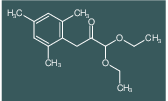 1,1-Diethoxy-3-(2,4,6-trimethylphenyl)propan-2-one