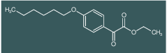 (4-Hexyloxyphenyl)oxoacetic acid ethyl ester