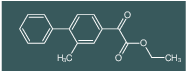 (2-Methylbiphenyl-4-yl)oxoacetic acid ethyl ester