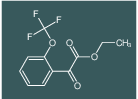 Oxo-(2-trifluoromethoxy-phenyl)-acetic acid ethyl ester