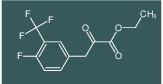 3-(4-Fluoro-3-trifluoromethyl-phenyl)-2-oxo-propionic acid ethyl ester
