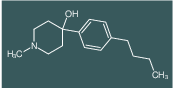 4-(4-N-BUTYLPHENYL)-4-HYDROXY-1-METHYLPIPERIDINE