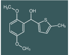 (2,5-DIMETHOXYPHENYL)(5-METHYLTHIOPHEN-2-YL)METHANOL