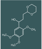 3-[2-(1,3-DIOXANYL)]-1-(2,4,5-TRIMETHOXYPHENYL)-1-PROPANOL