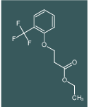 3-[2-(TRIFLUOROMETHYL)PHENOXY]-PROPANOIC ACID, ETHYL ESTER