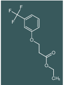 3-[3-(TRIFLUOROMETHYL)PHENOXY]-PROPANOIC ACID, ETHYL ESTER