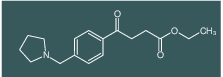 ethyl 4-oxo-4-[(4-pyrrolidinomthyl)phenyl]butyrate