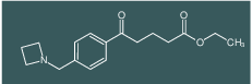 ethyl 5-[4-(azetidinomethyl)phenyl]-5-oxovalerate