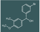 (3-BROMOPHENYL)(4-METHOXY-3-METHYLPHENYL)METHANOL