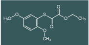 ETHYL 2-(2,5-DIMETHOXYPHENYL)SULFANYL-2-OXO-ACETATE