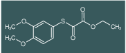ETHYL 2-(3,4-DIMETHOXYPHENYL)SULFANYL-2-OXO-ACETATE