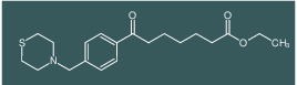 ethyl 7-oxo-7-[4-(thiomorpholinomethyl)phenyl]heptanoate