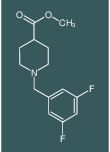 METHYL 1-[(3,5-DIFLUOROPHENYL)METHYL]PIPERIDINE-4-CARBOXYLATE