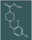 METHYL 1-[(4-CHLORO-2-FLUOROPHENYL)METHYL]PIPERIDINE-4-CARBOXYLATE