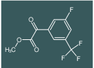 (3-FLUORO-5-TRIFLUOROMETHYL-PHENYL)-OXO-ACETIC ACID METHYL ESTER