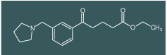 ethyl 5-oxo-5-[3-(pyrrolidinomethyl)phenyl]valerate