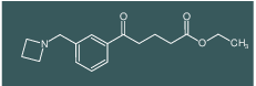 ethyl 5-[3-(azetidinomethyl)phenyl]-5-oxovalerate