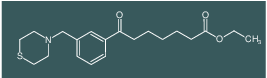 ethyl 7-oxo-7-[3-(thiomorpholinomethyl)phenyl]heptanoate