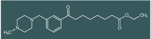 ethyl 8-[3-(4-methylpiperazinomethyl)phenyl]-8-oxooctanoate