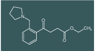 ethyl 4-oxo-4-[2-(pyrrolidinomethyl)phenyl]butyrate