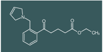 ethyl 5-oxo-5-[2-(3-pyrrolinomethyl)phenyl]valerate