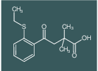 2,2-Dimethyl-4-[2-(ethylthio)phenyl]-4-oxobutyric acid