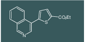 Ethyl 5-(isoquinolin-4-yl)thiophene-2-carboxylate