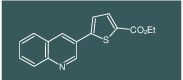 Ethyl 5-(quinolin-3-yl)thiophene-2-carboxylate
